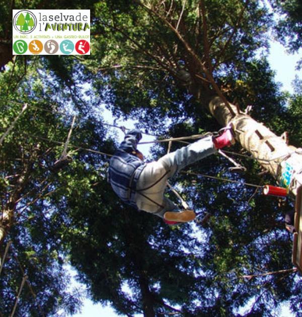 La selva laventura_circuit acrobatic_imatge principal