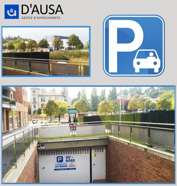 Parking Nord-Vic UVic-U-Vals
